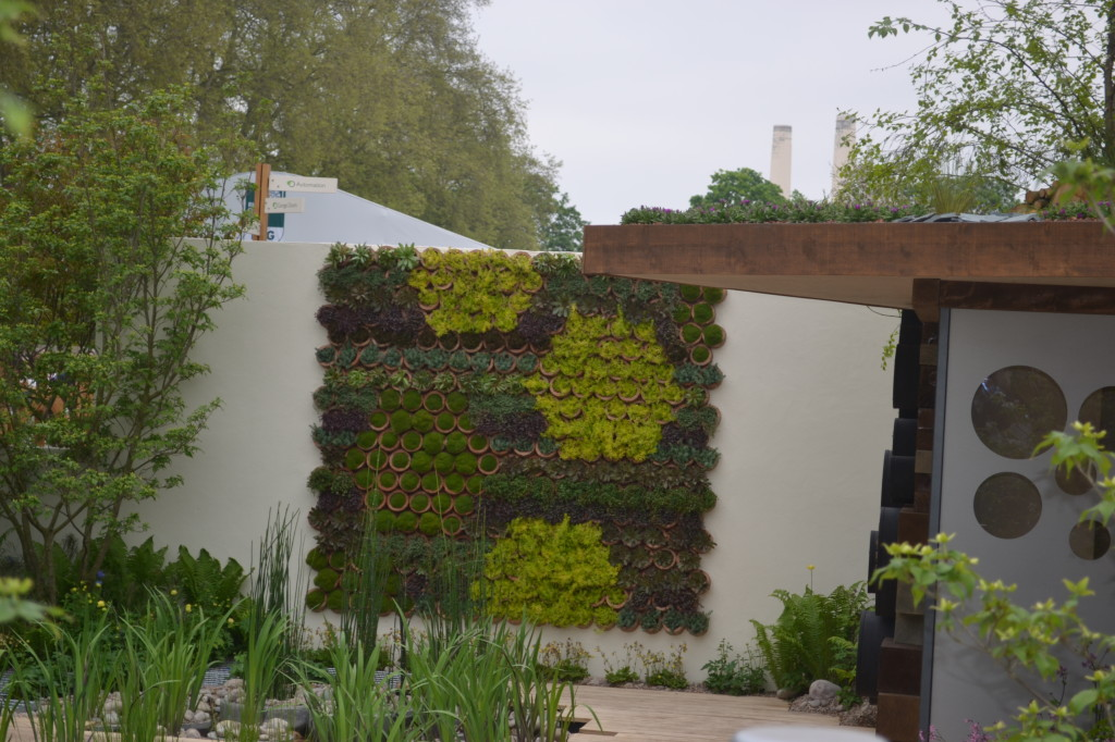 Nigel Dunnett's Blue water roof garden