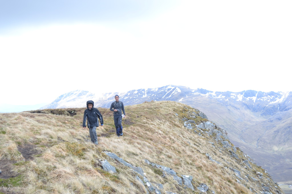 Walking in Glen Shiel