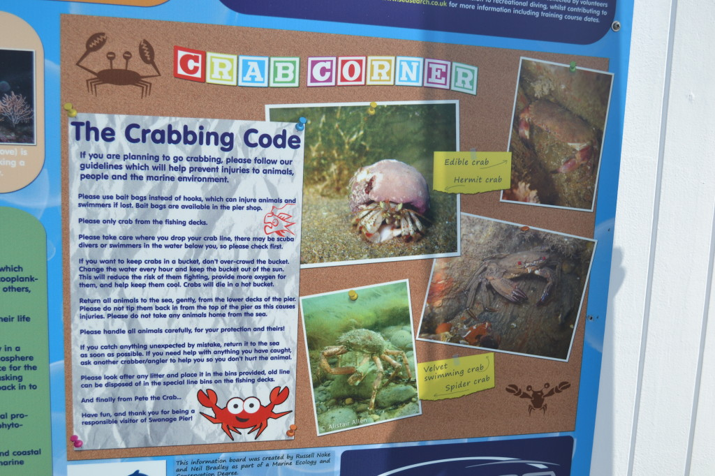crabbing details