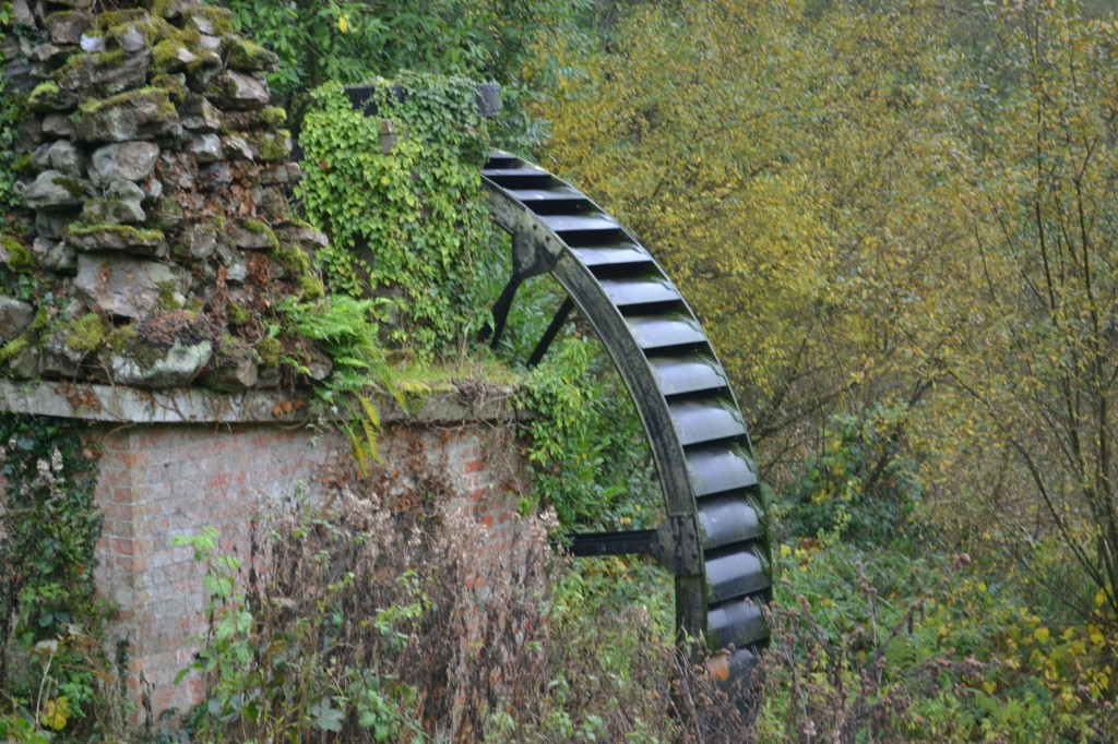 waterwheel Stourhead