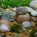 wishing pebbles RHS Chelsea